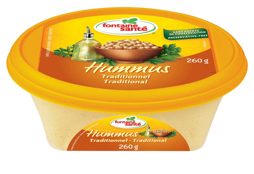 FONTAINE SANTE HUMMUS TRADITIONNEL 260 G