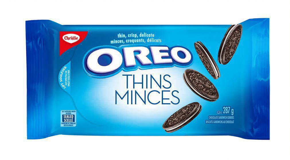 CHRISTIE, BISCUITS OREO MINCES, 287G