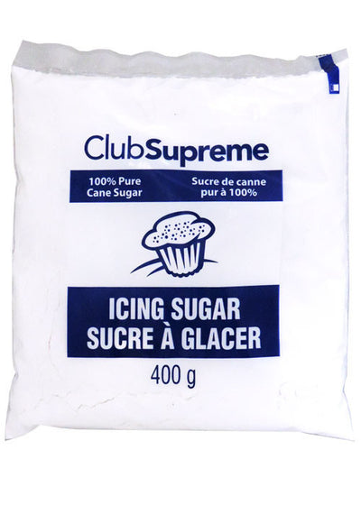CLUB SUPREME SUCRE A GLACER 400 G