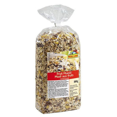 MUSLI-LAND MUESLI AUX FRUITS  500 G