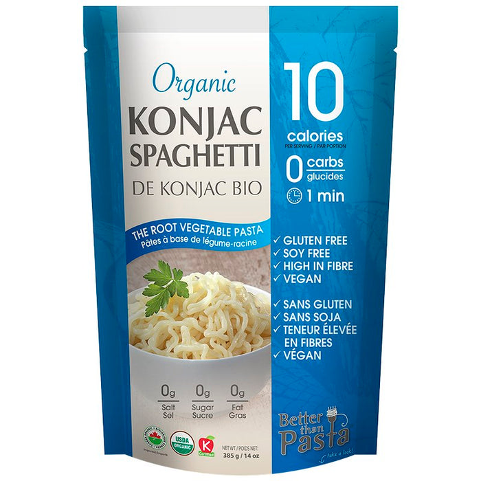 BETTER THAN PASTA, SPAGHETTI DE KONJAC BIOLOGIQUE, 385G