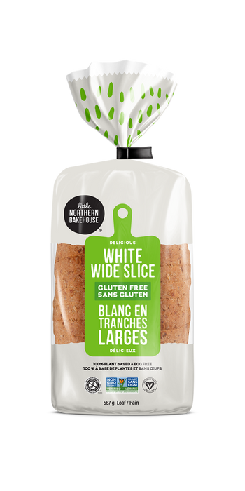 LITTLE NOTHERN BAKEHOUSE, PAIN BLANC EN TRANCHES SANS GLUTEN, 400 G