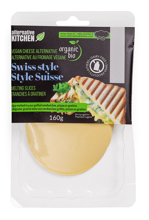 ALTERNATIVE KITCHEN, SUISSE VÉGANE BIO, 160 G