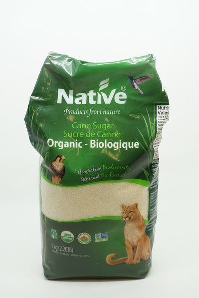NATIVE SUCRE DE CANNE BIO 1 KG