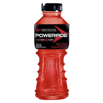 POWERADE ION4 BOISSON POUR SPORTIFS PUNCH FRUITS 591 ML