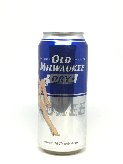 OLD MILWAUKEE BIÈRE DRY  473 ML