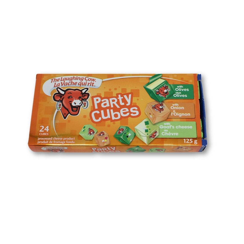 AGROPUR FROMAGE PARTY CUBE ORANGE 125 G
