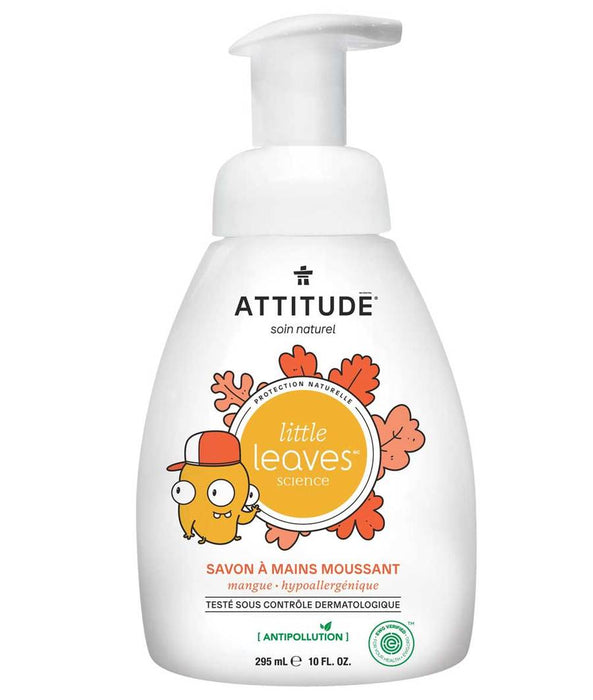 ATTITUDE, SAVON À MAINS MOUSSANT MANGUE, 295 ML