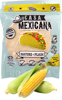CASA MEXICANA, TORTILLAS DE MAÏS NATURE , 400G