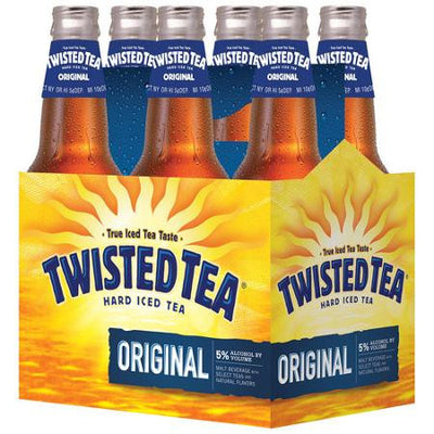 TWISTED TEA THÉ GLACE ALCOOLISE  6X355 ML