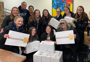 N. Andover HS GIRLS BASKETBALL (N.Andover, MA) DONATEaBAG Soup Fundraiser