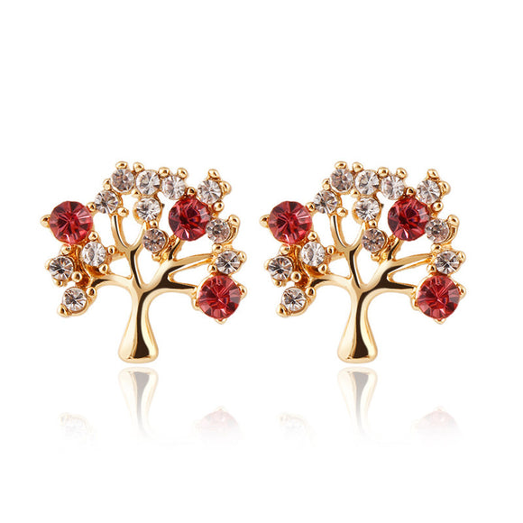 Nature Lover Tree Shape Earrings - Fashiozz
