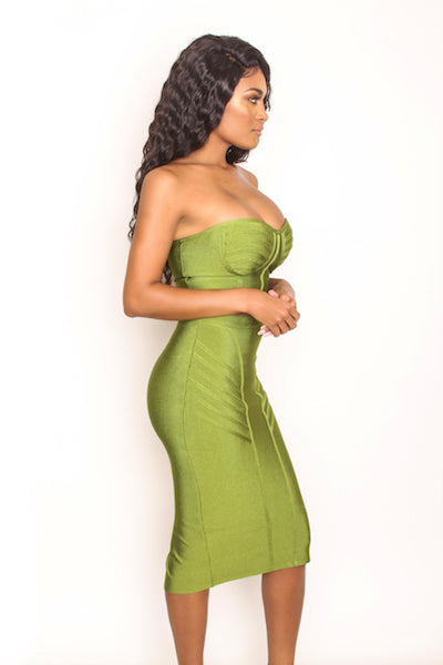 Olivia 2 Piece Set - Green