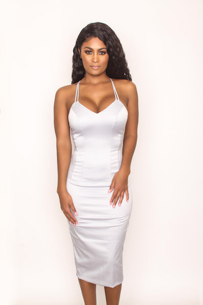 Sexy Love Dress - Light Grey