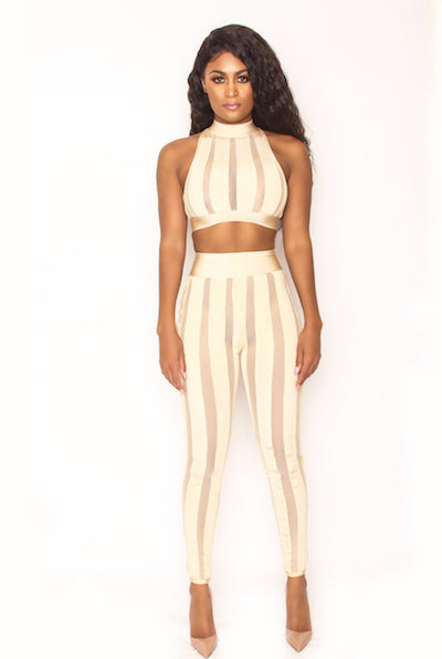 Skin 2 Piece Set - Nude