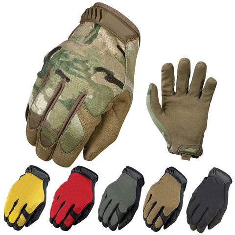 New Brand General Edition Multicam CP Tactical Military Airsoft Paintball Bicycle Combat Full Finger Gloves