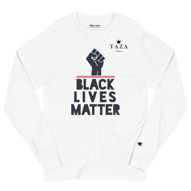 Black Lives Matter - Unisex Champion Long Sleeve Shirt