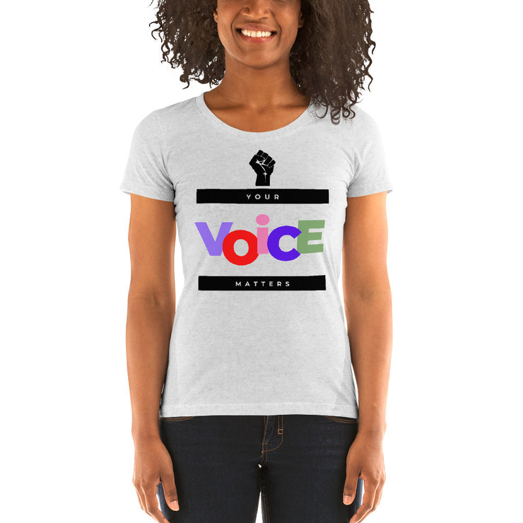 Your Voice Matters - Ladies' short sleeve t-shirt