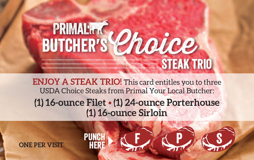 Butcher's Choice Steak Gift Card
