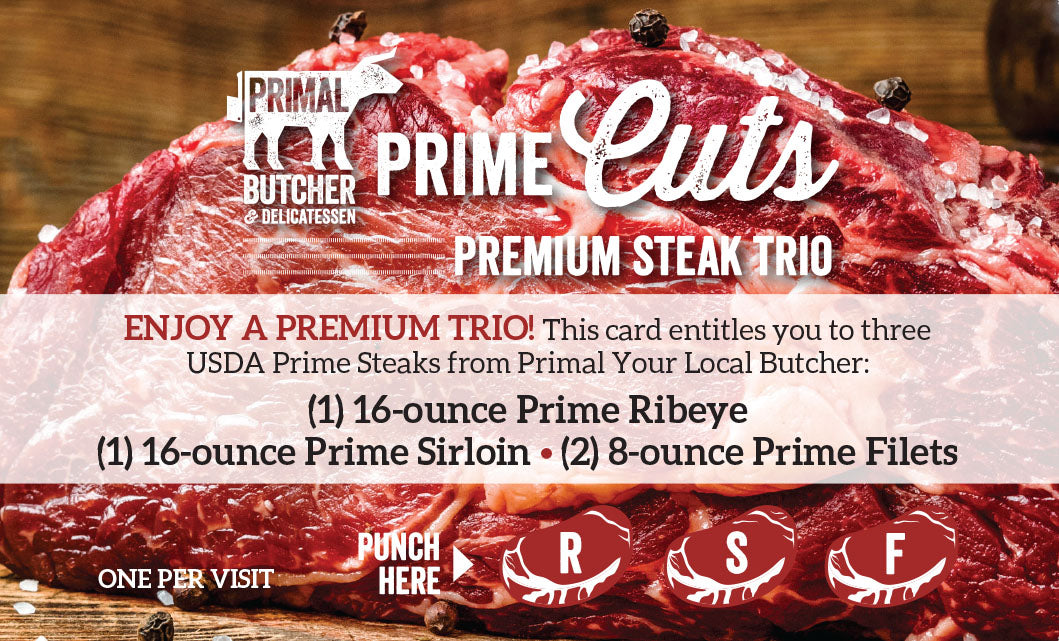 Prime Cuts Steak Gift Card