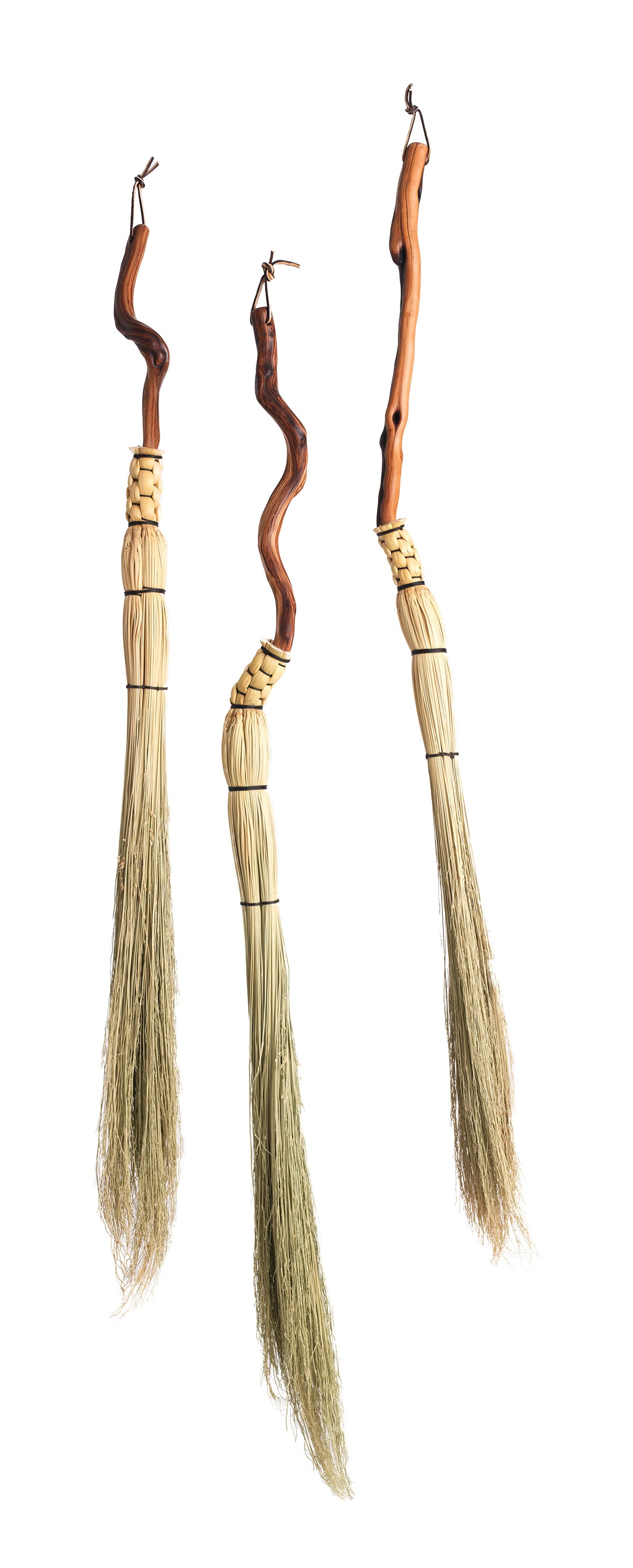 Granville Island Broom Co Manzanita handle cobwebber brooms
