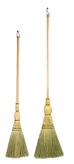 Shaker Flat Brooms (dowel handle)