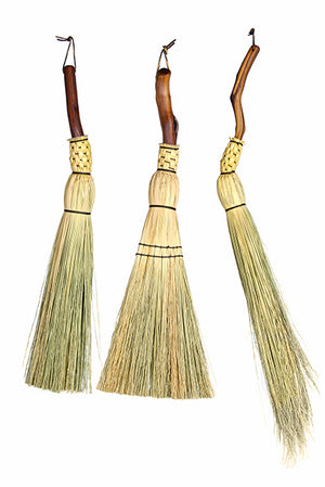 Granville Island Broom Co Manzanita fireplace brooms
