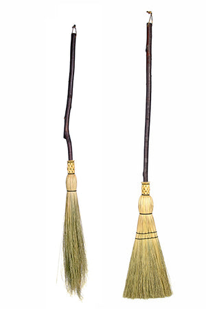 Rustic Birch Floor Brooms