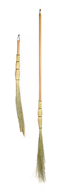 dowel handle cobwebber broom