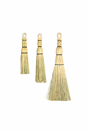 Granville Island Broom Co rope handle whisk brooms