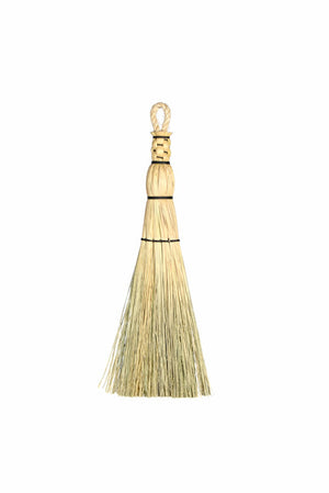 Granville Island Broom Co shaker flat whisk broom rope handle