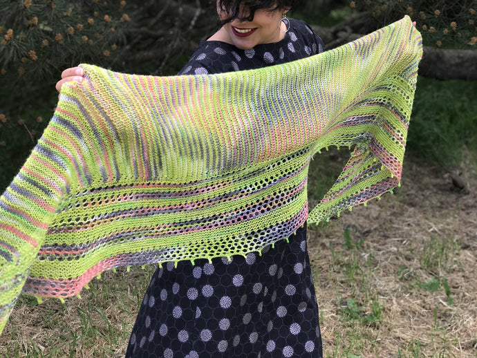 Feeling Fine Shawl by Afifa