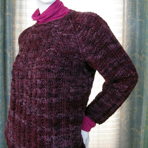 Rough Cut Raglan by Therese Chynoweth