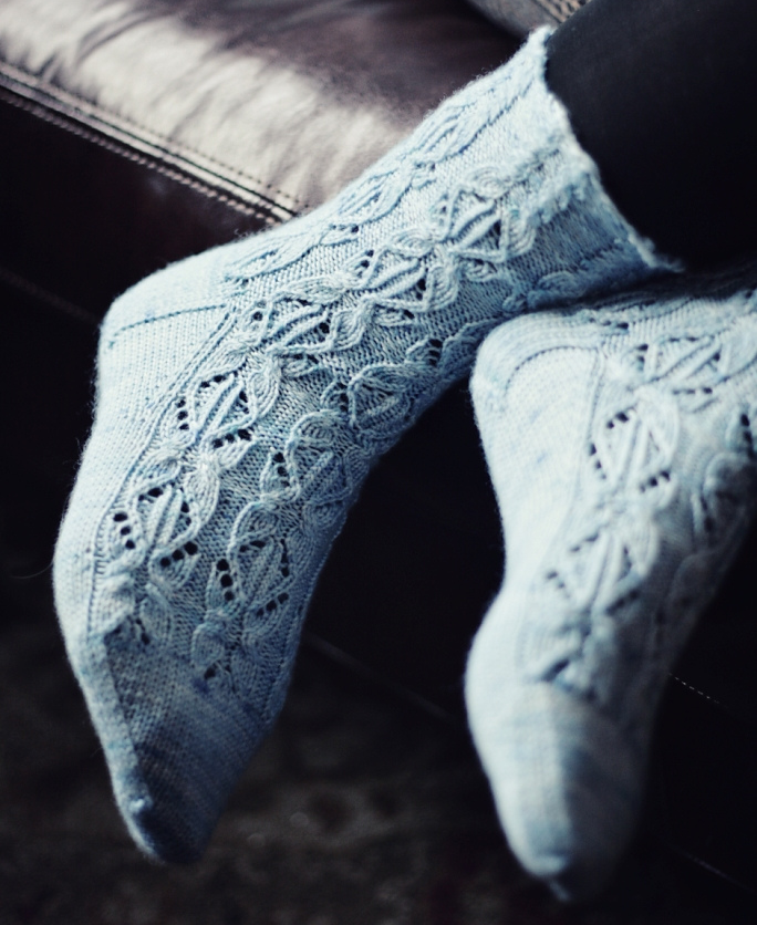Bea Socks by Christina Wilkins