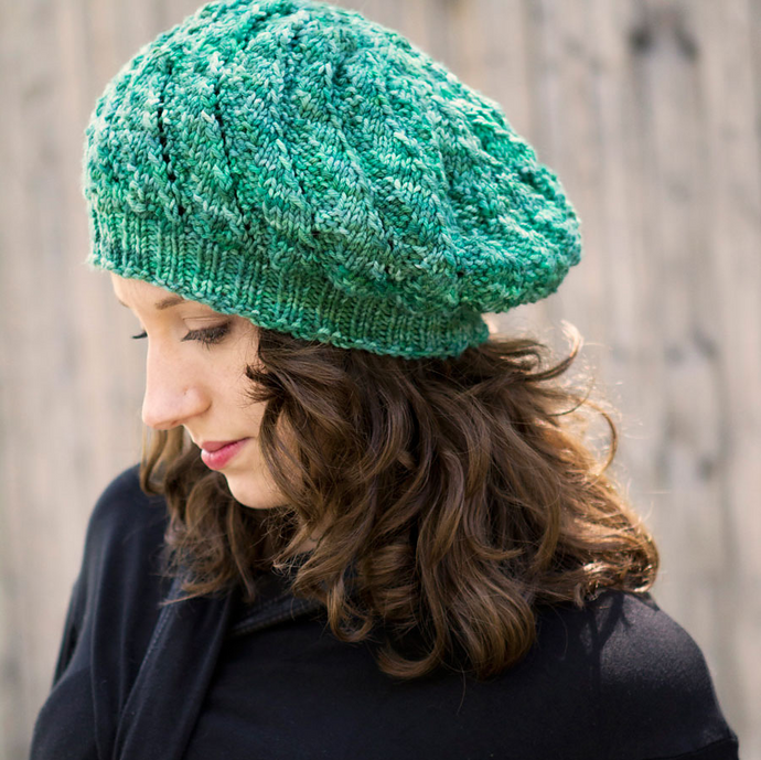 Mean Evergreen Hat by Jaala Spiro