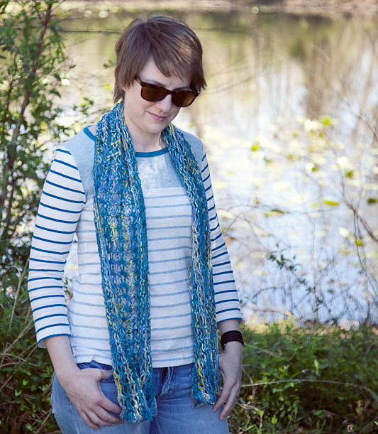 No Worries Scarf by Sasha Ball Rives