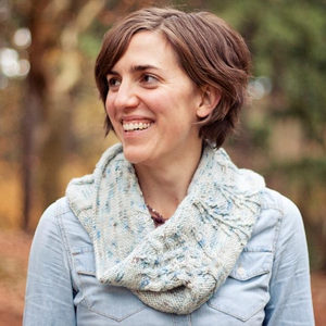 Snowy Woods Cowl by Michelle Bernstein