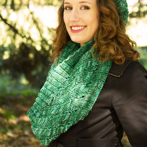 Mean Evergreen Cowl by Jaala Spiro