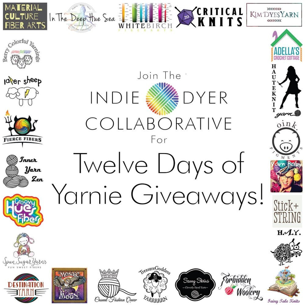 Fill your stocking with indie dyed yarn