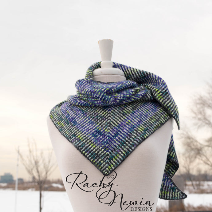 Through The Clouds Shawl by Rachy Newin
