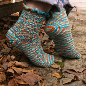 Fair Prize Socks by Katherine Vaughan