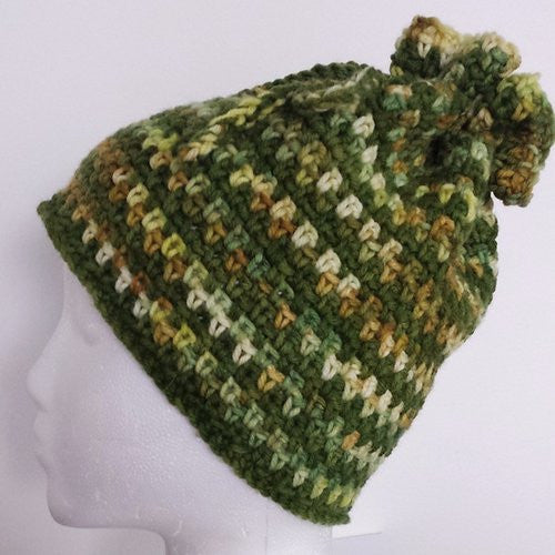Fresh Greens Hat or Cowl by Karen McKenna