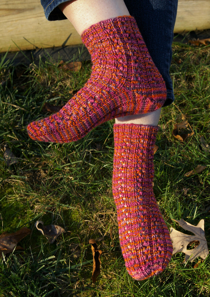 Jazz Feet Socks by Katherine Vaughan