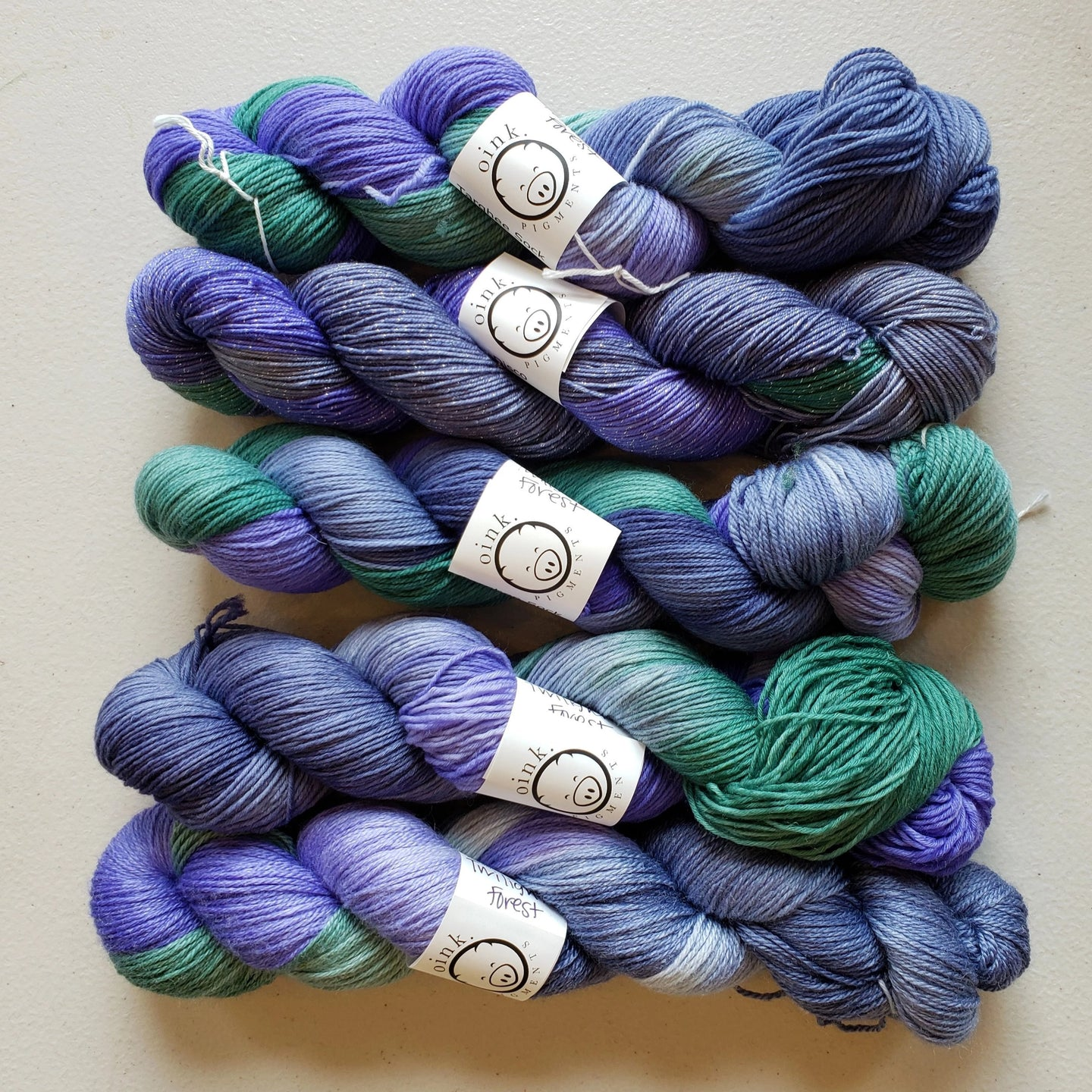 December 2019 Yarn of the Month: Twilight Forest (pre-order)