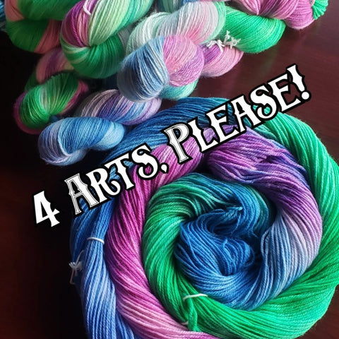 October 2019 Yarn of the Month: 4 Arts, Please!