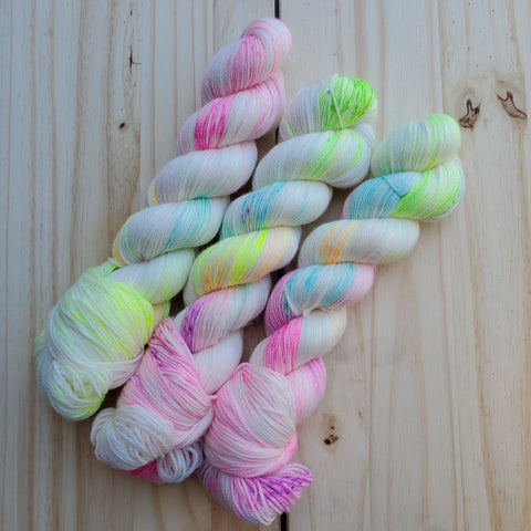 August 2020 Yarn of the Month: It's So Fluffy I'm Gonna Dye! (pre-order)