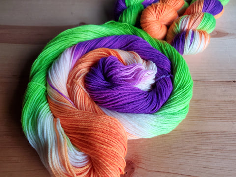 October 2020 Yarn of the Month: Scream Inside Your Heart (pre-order)