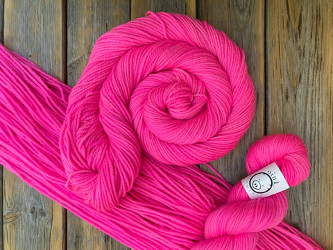 Back to the Fuchsia - Yarn