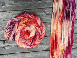 February 2020 Yarn of the Month: Hot Mess (pre-order)