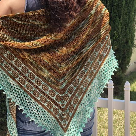 Ridge Wedding Shawl by Kathrine Jewell Harris